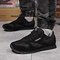 Кросівки чоловічі 18215, Reebok Classic, чорні, [ немає ] р. 45-29,0 див., фото 3