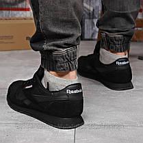Кросівки чоловічі 18215, Reebok Classic, чорні, [ немає ] р. 45-29,0 див., фото 2