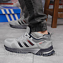 Кроссовки мужские 18221, Adidas Marathon Tr 26, серые, [ 44 46 ] р. 43-28,0см., фото 2
