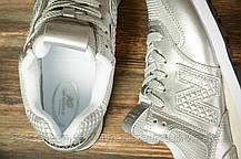 Кроссовки женские 16830, New Balance 574, серебряные, [ 39 40 ] р. 39-24,8см., фото 3