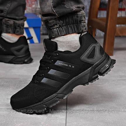Кросівки чоловічі 18224, Adidas Marathon Tr 26, чорні, [ 44 ] р. 44-28,5 див., фото 2