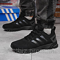 Кросівки чоловічі 18224, Adidas Marathon Tr 26, чорні, [ 44 ] р. 44-28,5 див., фото 3