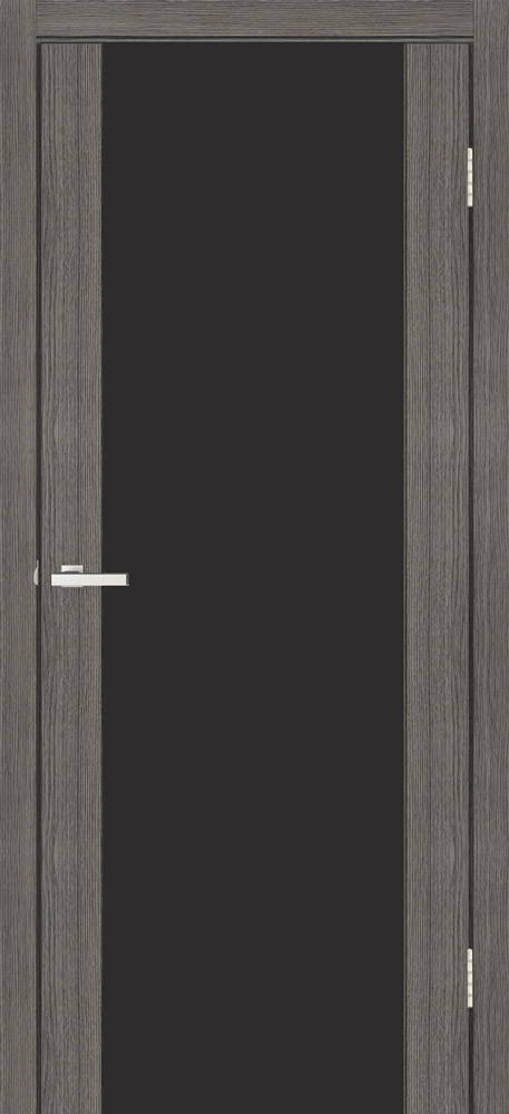 Cortex Gloss дуб ash triplex черный 2000х600х40