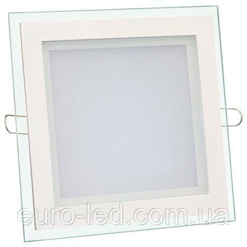 Світильник світлодіодний Biom GL-S6 WW 6Вт квадратний теплий білий (LF-6)