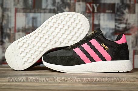 Кросівки жіночі 16873, Adidas Iniki, чорні, [ 36 38 39 40 41 ] р. 36-22,2 див., фото 2