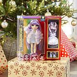 Уцінка! Лялька Rainbow High Віолетта Violet Willow Purple Фіолетова Мосту Хай Вайолет Віллоу 569602 Оригінал, фото 7