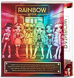 Уцінка! Лялька Rainbow High Віолетта Violet Willow Purple Фіолетова Мосту Хай Вайолет Віллоу 569602 Оригінал, фото 8
