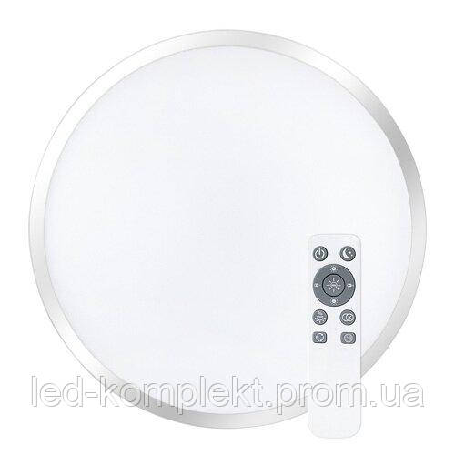 Світильник світлодіодний Biom SMART SML-R18-80/2 3000-6000K 80Вт з д/у