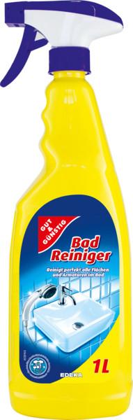 Чистящее средство для ванной и душевой кабины G&G Badreiniger  1000 мл - Немецкая бытовая химия и косметика торговых марок Denkmit  i Balea. в Волынской области
