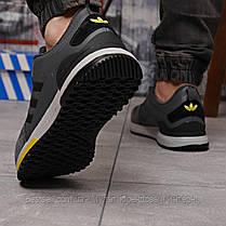 Кросівки чоловічі 18281, Adidas Zx 700 HO, темно-сірі, [ 42 ] р. 41-26,0 див., фото 3