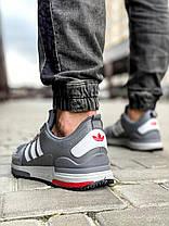 Кросівки чоловічі 18283, Adidas Zx 700 HO, сірі, [ 42 43 44 45 ] р. 41-26,0 див., фото 2