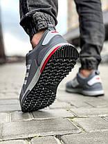 Кросівки чоловічі 18283, Adidas Zx 700 HO, сірі, [ 42 43 44 45 ] р. 41-26,0 див., фото 3