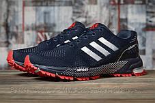 Кроссовки женские 16915, Adidas Marathon Tn, темно-синие, [ 36 38 39 ] р. 36-22,7см., фото 2