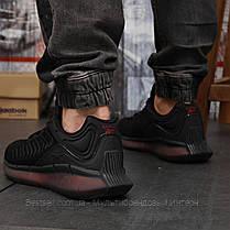 Кросівки чоловічі 18323, Reebok Zig Kinetica (TOP AAA), чорні, [ немає ] р. 42-27,0 див., фото 2