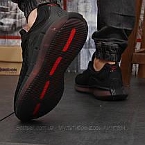 Кросівки чоловічі 18323, Reebok Zig Kinetica (TOP AAA), чорні, [ немає ] р. 42-27,0 див., фото 3