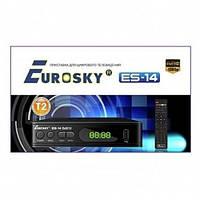 TV T2 Тюнер Eurosky ES-14 для цифрового телебачення + інтернет