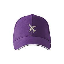 "Кепка ""Самолёт"" AVIAMERCH, цвет: фиолетовый"