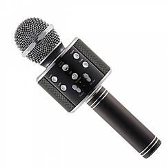 Беспроводной микрофон Wеster WS-858 Черный R0480, КОД: 1579192