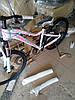 """Горный женский велосипед HighWay Soul AL  AM DD 27.5""""(бело-бирюзовый с розовым)"""