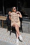 Женское платье летнее Оверсайз, фото 2