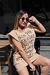 Платье женское с принтом двухнить Оверсайз, фото 6