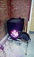 Печь булерьян с варочной поверхностью  04-1200 м3 (Bullerjan)