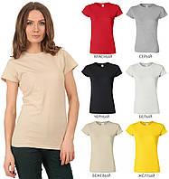 Женская футболка мягкая Gildan
