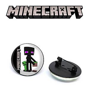 "Значок Майнкрафт ""Box"" / Minecraft"