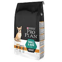 Сухой корм для собак Pro Plan Adult Small & Mini Chicken & Rice  7 кг