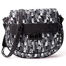 Женская сумка кросс-боди Eminsa 40234-64-1 кожаная черная