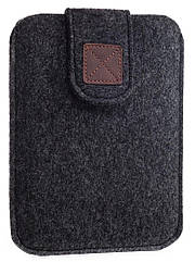 Чехол войлочный на липучке Gmakin для Amazon Kindle Paperwhite Темно-серый GK04, КОД: 145065