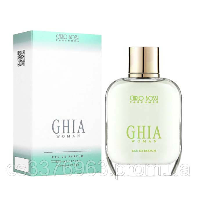 Парфюмерная вода для женщин Carlo Bossi Ghia Woman Green 100 мл