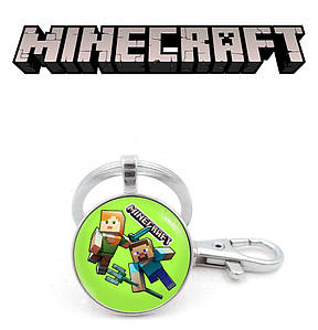 "Брелок Майнкрафт ""Attack"" / Minecraft"