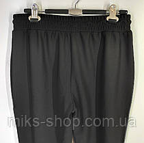 Жіночі батальні брюки бамбук Мега еластичні весна – літо  2Xl, 3 Xl,  4 XL, фото 3