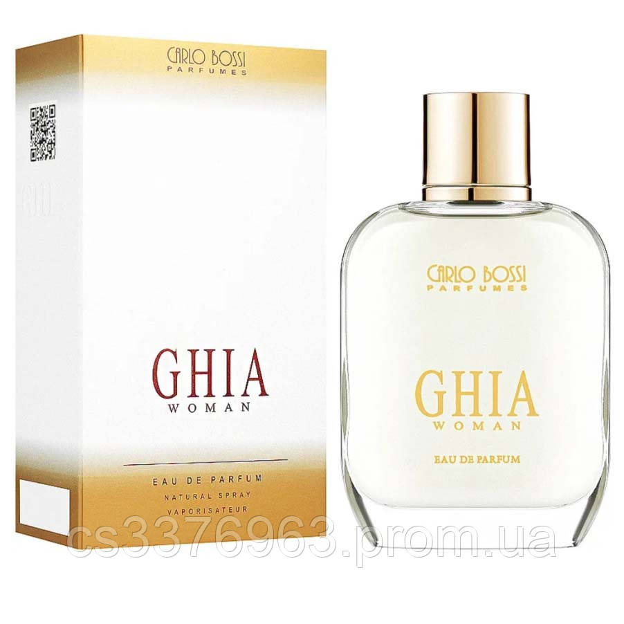 Парфюмерная вода для женщин Carlo Bossi Ghia Woman 100 мл