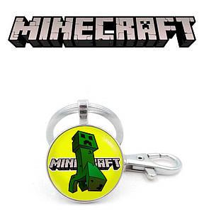 """Брелок Майнкрафт """"Green Robot"""" / Minecraft"""