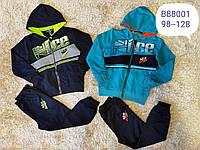 Трикотажный костюм 2 в 1 для мальчика оптом, Grace, 98-128 см,  № B88001