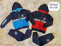 Трикотажный костюм 2 в 1 для мальчика оптом, Grace, 98-128 см,  № B87860