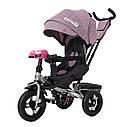 Детский трёхколёсный велосипед TILLY CAYMAN T-381, поворотное сиденье, усиленная ручка, ровер, фото 2