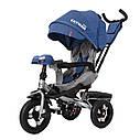 Детский трёхколёсный велосипед TILLY CAYMAN T-381, поворотное сиденье, усиленная ручка, ровер, фото 5