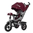 Детский трёхколёсный велосипед TILLY CAYMAN T-381, поворотное сиденье, усиленная ручка, ровер, фото 6