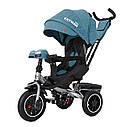 Детский трёхколёсный велосипед TILLY CAYMAN T-381, поворотное сиденье, усиленная ручка, ровер, фото 7