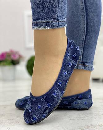 Кросівки жіночі 6 пар в ящику синього кольору 36-41, фото 2