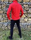 Спортивный костюм в стиле Ralph Lauren Оригинал Кофта штаны красный, фото 4