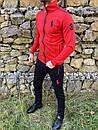 Спортивний костюм в стилі Ralph Lauren Оригінал Кофта штани червоний, фото 5