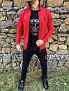 Спортивний костюм в стилі Ralph Lauren Оригінал Кофта штани червоний, фото 3