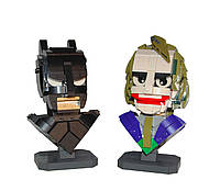 Конструктор бюст Бэтмен и Джокер (Batman & Joker)