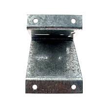 Кронштейн (пластина) для кріплення лебідки на стіну полегшений