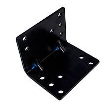 Кронштейн (пластина) для кріплення лебідки на стіну посилений