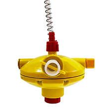 Регулятор давления воды концевой с переключателем промывки AT